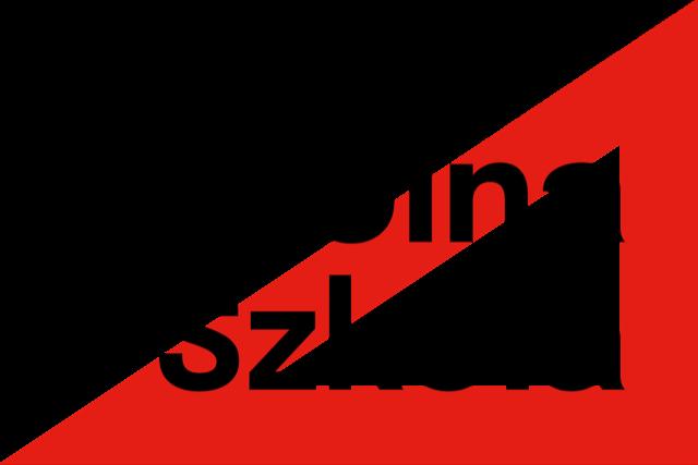 Logo akcji - czarny napis